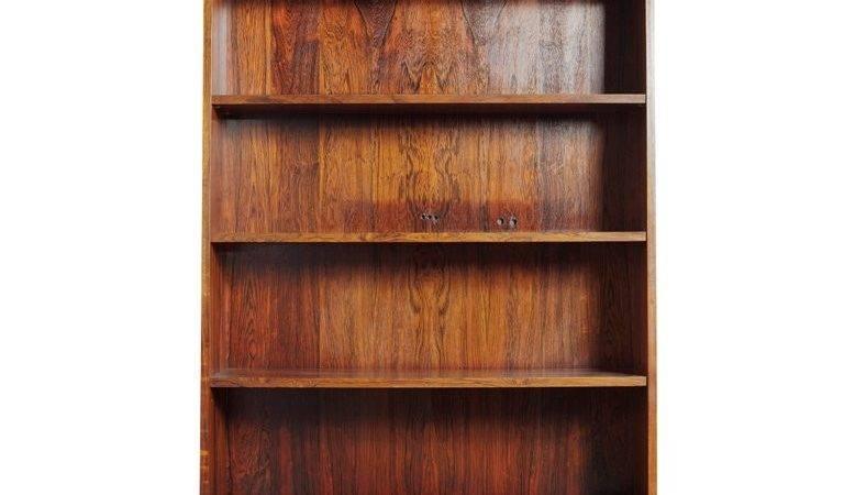 Recessed Rosewood Bookcase Stdibs