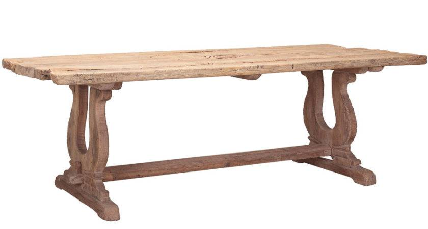 Reclaimed Rustic Wood Dining Table Retreat