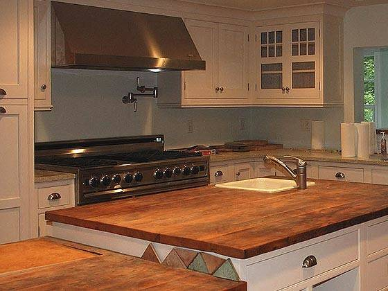Reclaimed Wood Countertops Antique Woodworks