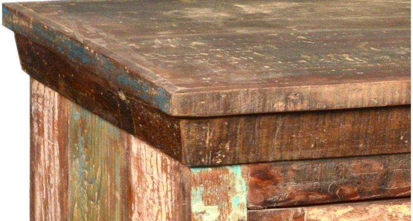 Reclaimed Wood Furniture Rustic Wooden Windows Media Stand