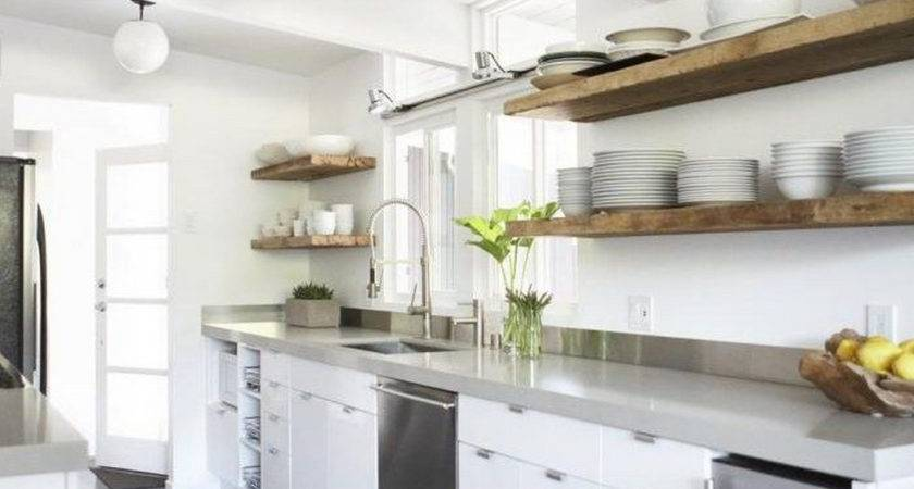 Reclaimed Wood Shelves Kitchen Applicability