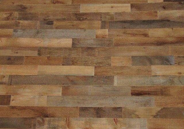 Reclaimed Wood Wall Covering Diy Rustic Decor
