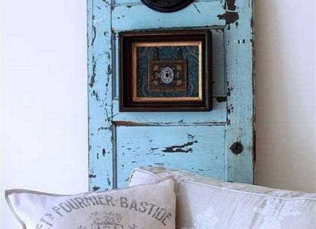 Recycling Old Wooden Doors Windows Home Decor