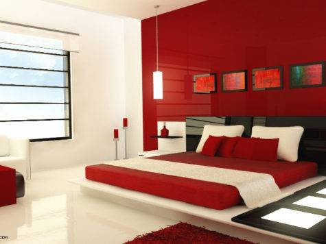 Red Bedrooms