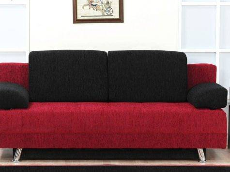 Red Black Corner Sofa Couch Ideas Interior