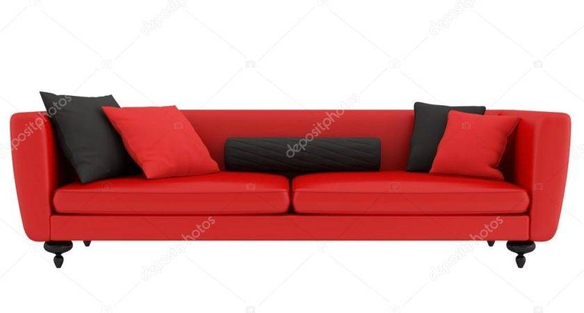Red Black Sofa Archideaphoto