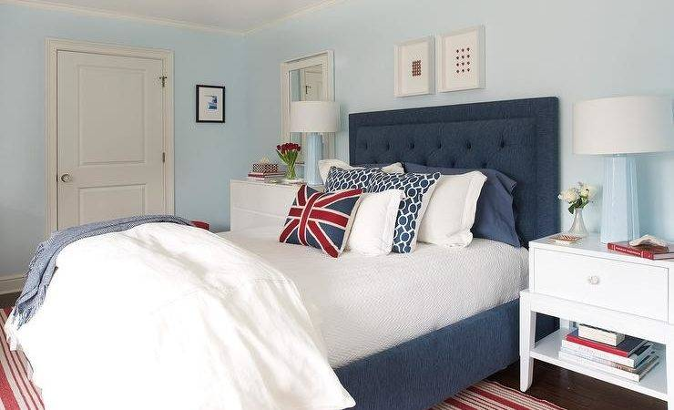 Red Blue Bedroom Baby Lamps Contemporary
