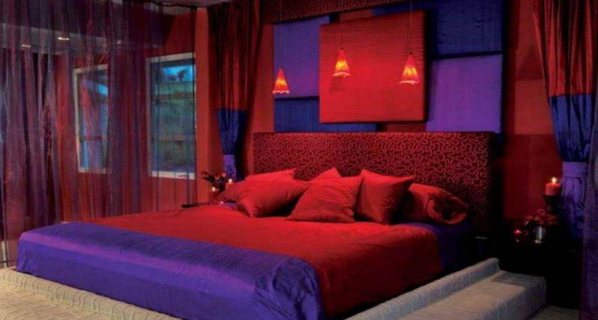 Red Blue Bedroom Ideas Photos Video