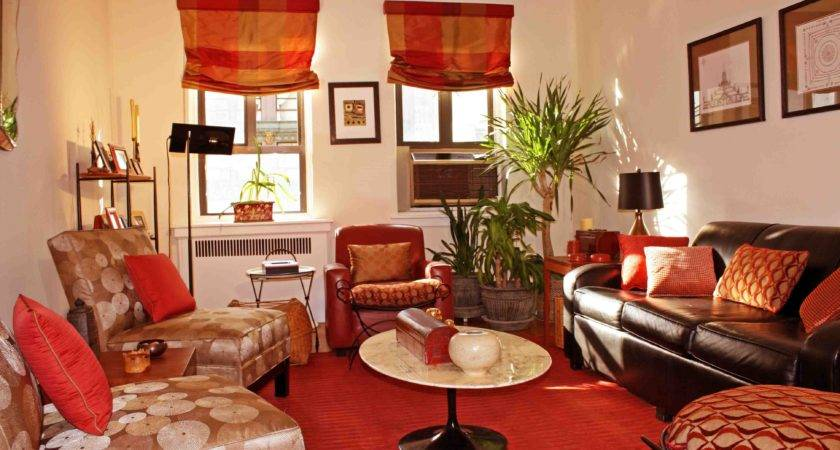 Red Brown Living Room Decor Home Decorations