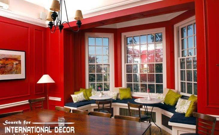 Red Color Interior Combinations
