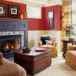 Red Contemporary Living Room Photos Hgtv Idolza
