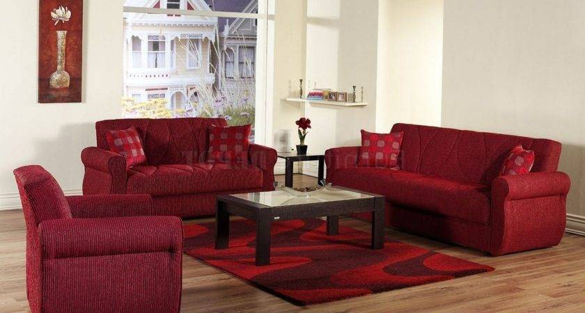 Red Couch Decor Home Design Living Room
