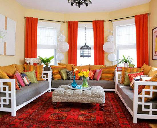 Red Curtains Room Ideas Curtain Menzilperde
