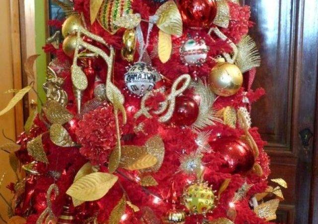 Red Gold Christmas Decorations Designcorner