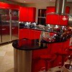 Red Kitchen Theme Ideas Modern Look Actual