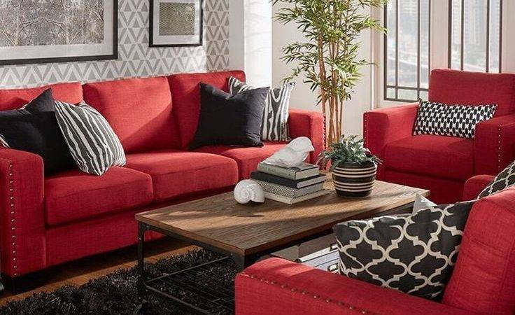Red Leather Sofa Decorating Ideas Brokeasshome