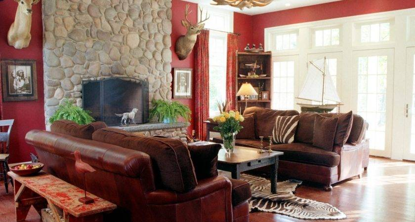 Red Living Room Cowhide Rug Ideas Best Wiring