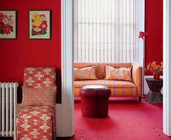 Red Living Room Ideas Your Sexy Guest Home