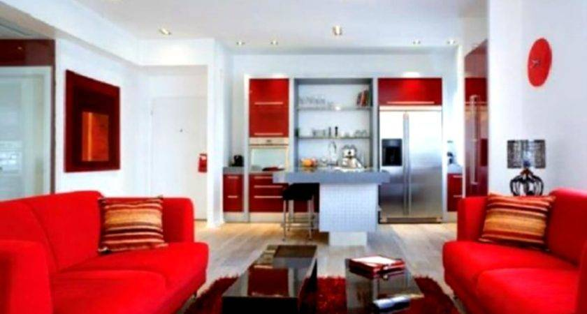 Red Living Room Paint Ideas Modern House