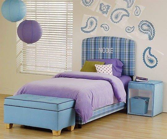 Red Orange Purple Blue Girls Bedrooms Ideas Home