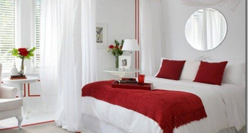 Red White Bedroom Decorating Ideas Unique Black