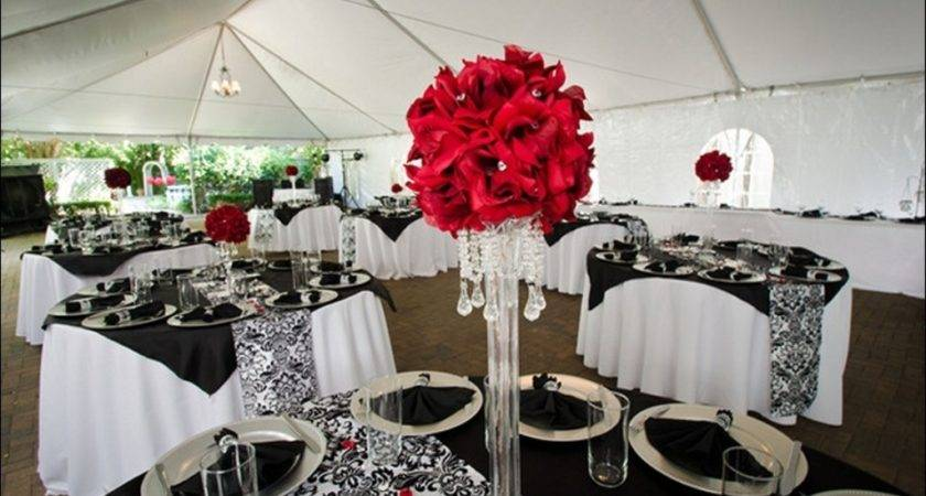 Red White Party Decoration Ideas