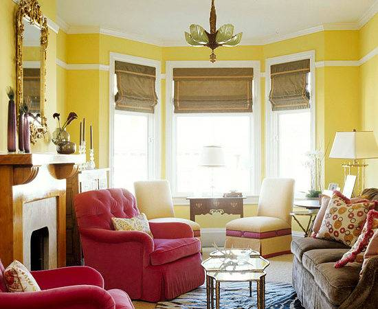 Red Yellow Brown Living Room Best Cars