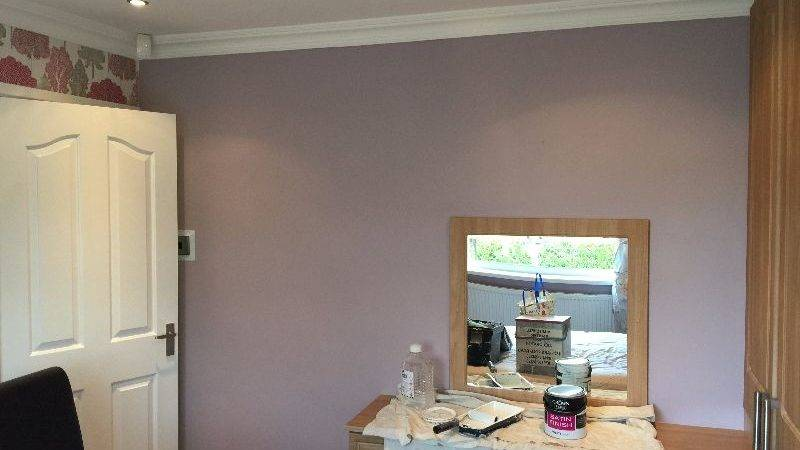 Redecorating Bedroom Chapeltown Mitchell Painter