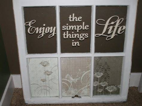Redefining Enjoy Simple Things Life Old Window