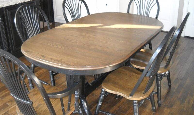 Refinish Dining Room Table Ideas Desjar Interior
