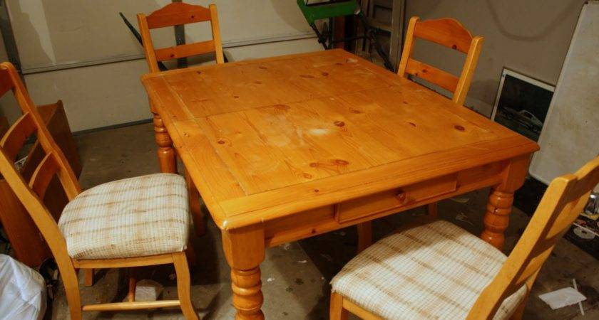 Refinish Dining Room Table Marceladick