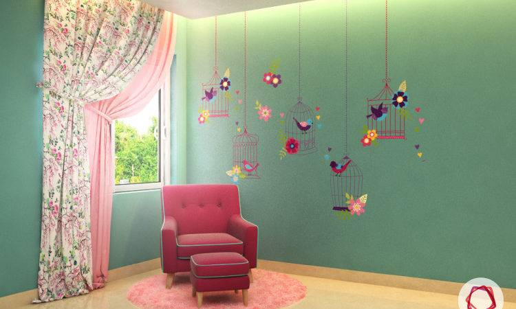 Refreshing Accent Wall Ideas Kids Rooms