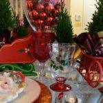 Remarkable Christmas Banquet Table Decorations