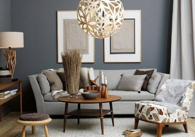 Retro Chic Living Room Decor Just Decorate
