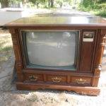 Revamp Old Console Cabinet