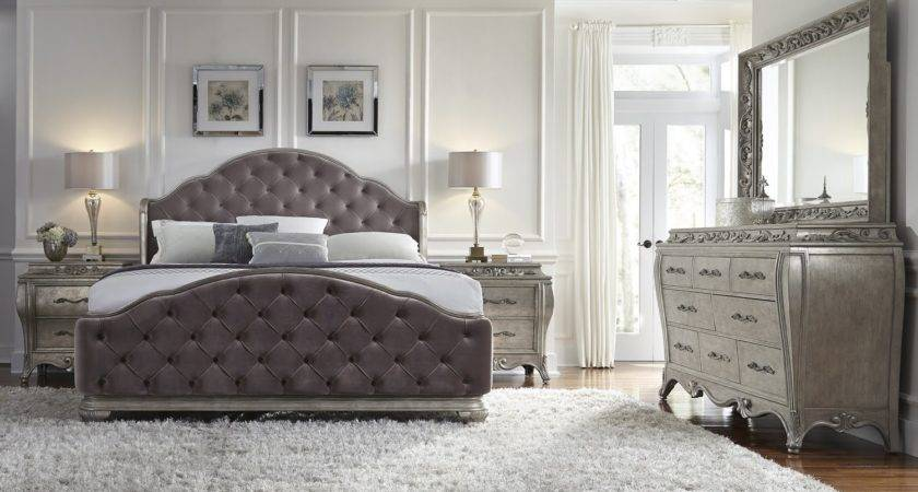 Rhianna Glam Style Bedroom Set Pulaski Furniture Home