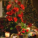 Robin Wood Flowers Holiday Tables