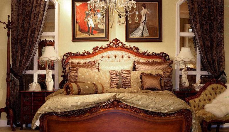 Romantic Antique Bedroom Photos