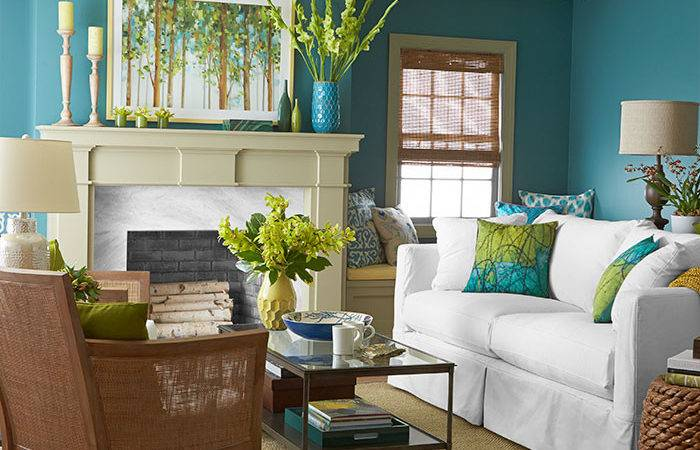Room Dramatic Color Palettes