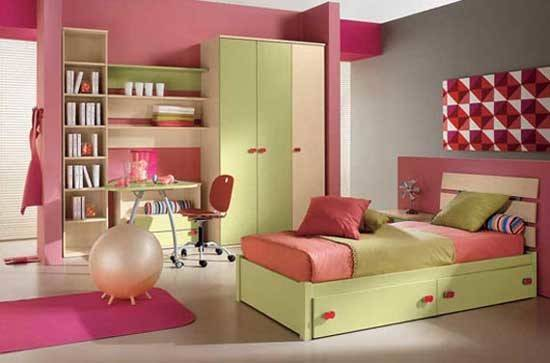 Room Interior Decoration Kids Bedroom Design