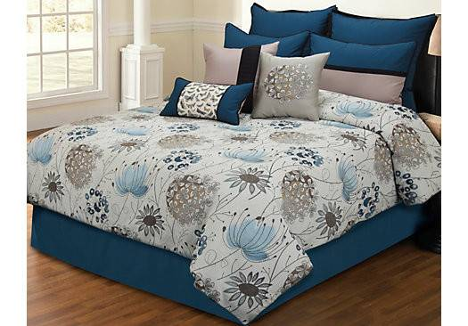Rooms Penrose Place Queen Comforter Set
