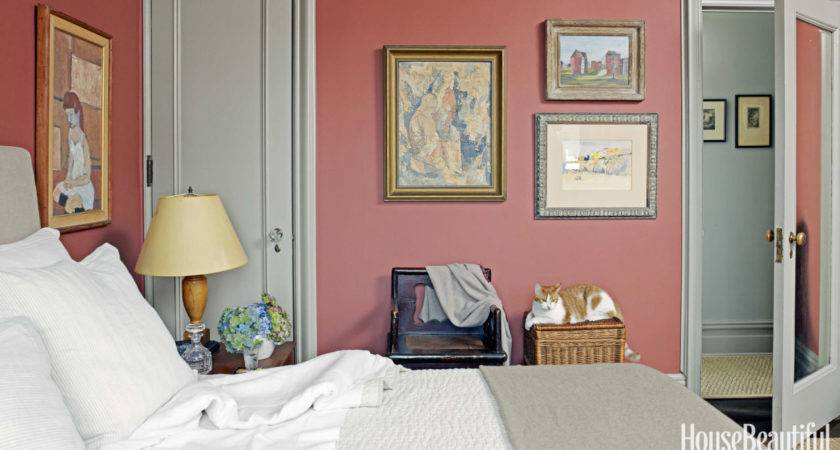 Rose Color Paint Bedroom Painting Walls