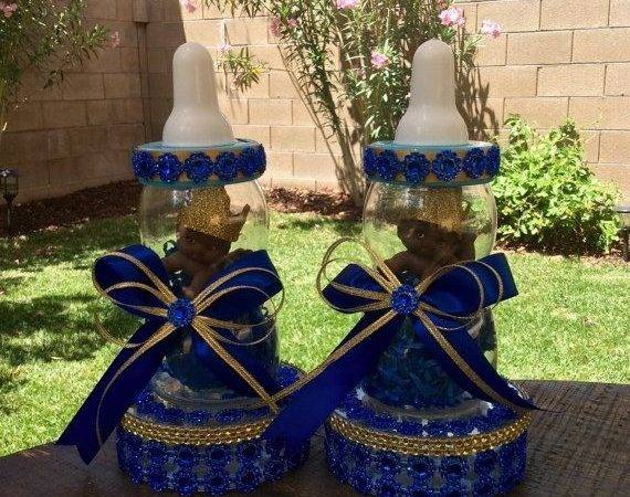 Royal Blue Gold Centerpieces Best