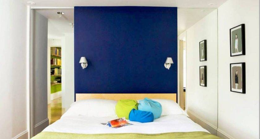 Royal Blue Painted Bed Room Bedroom Color Ideas