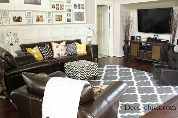 Rug Brown Sofa Color Carpet Goes Couch