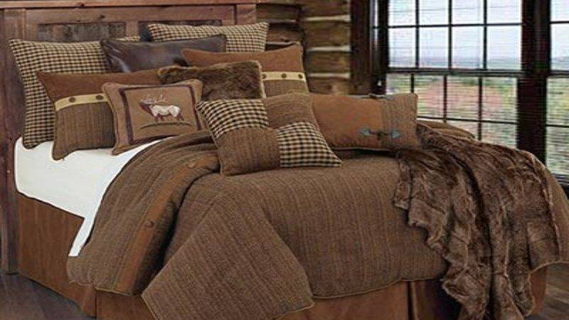 Rug Rustic Living Room Discount Cabin Bedding Lodge