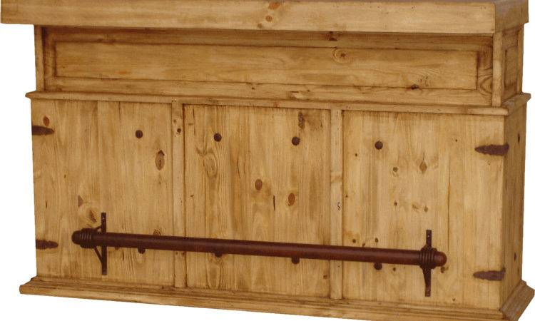 Rustic Bar Wood Pine Furniture