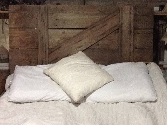 Rustic Barn Door Headboard Reclaimvintagecharm Etsy