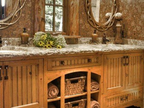 Rustic Bathroom Cor Ideas Country Style Interior