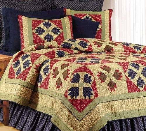 Rustic Bear Claw Quilt Bedding